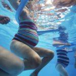 Schwimmbad-beremennost