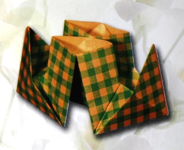 оригами-пароход