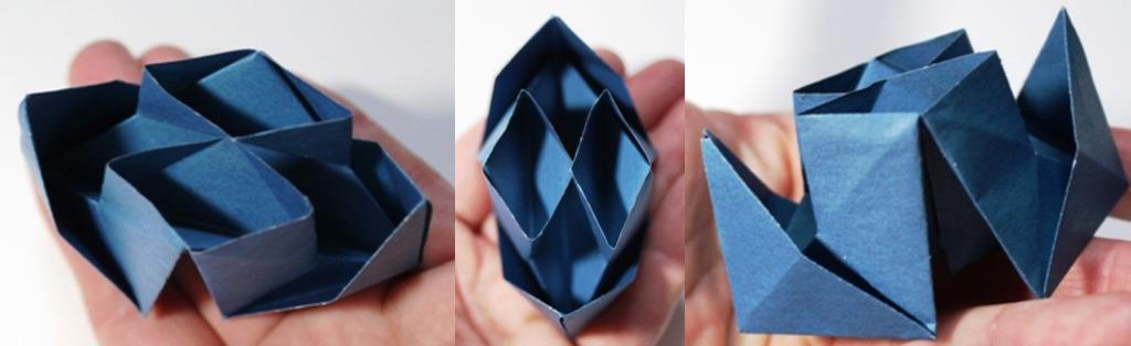 пароход-оригами