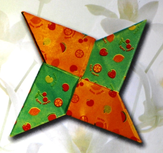 оригами-схема-сюрикен