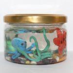 поделка-пластилин-аквариум
