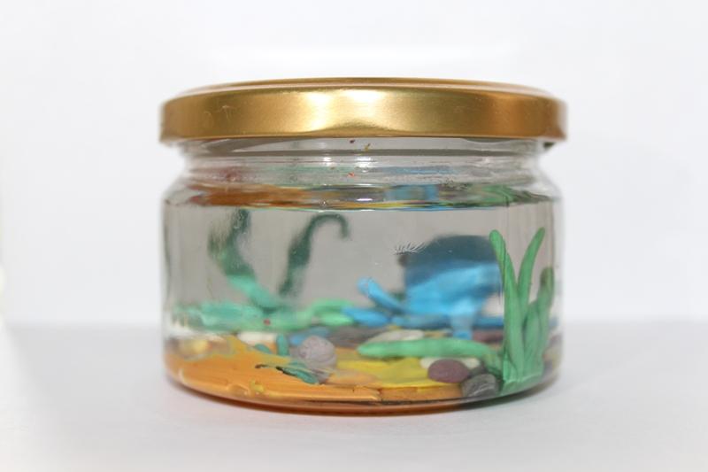 осьминог-аквариум-пластилиин